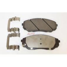 Колодки тормозные передние KIA Sorento 2.4-3.5 02->
