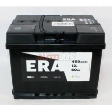 6CT-60L ERA Аккумуляторная батарея (6CT-60L) 12V, 60Ah, 450A п/п (242x175x190 +/-) (Польша)