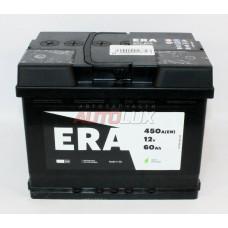 6CT-60R ERA Аккумуляторная батарея (6CT-60R) 12V, 60Ah, 450A о/п (242x175x190 -/+) (Польша)