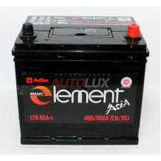 70D23L АкТЕХ Аккумуляторная батарея Smart Element Asia 12V, 65Ah, 480/600A о/п (232х173х223 -/+)