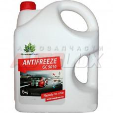 Антифриз GreenCool GС5010 [красный], готовый, 5кг