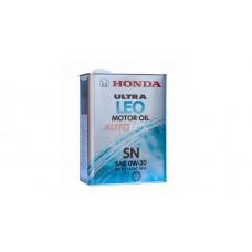 821799974 HONDA Масло мот. ULTRA LEO SN 0W20 синт. (4 л)