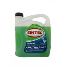 SINTEC Жидкость стеклоомывателя зимняя Арктика (-20) (4 л)