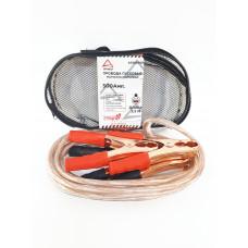 ARNEZI Провода прикуривания АКБ до -40C (300А) 12В жил 128шт 8мм (силиконовые) (2,5 м) (сумка)
