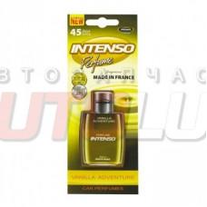 AROMA CAR Ароматизатор подвесной гелевый INTENSO Perfume Vanilla Adventure
