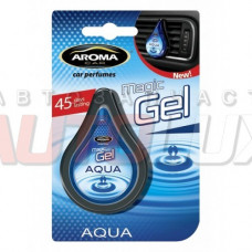 AROMA CAR Magic gel Aqua на дефлектор