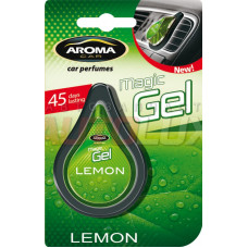 AROMA-CAR Ароматизатор (на дефлектор) Magic gel - Lemon