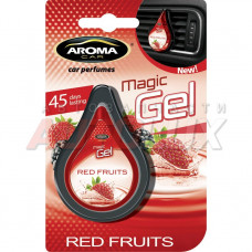 AROMA-CAR Ароматизатор (на дефлектор) Magic gel - Red Fruits