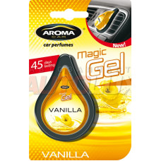 AROMA-CAR Ароматизатор (на дефлектор) Magic gel - Vanilla