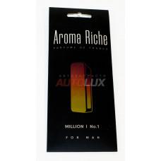 AROMA RICHE Ароматизатор воздуха For MAN Million №1 (картон)