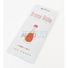 AROMA RICHE Ароматизатор воздуха For WOMAN Jado №1 (картон)