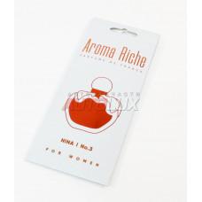 AROMA RICHE Ароматизатор воздуха For WOMAN Nina №3 (картон)