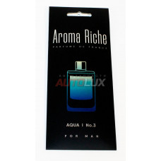 AROMA RICHE Ароматизатор воздуха For MAN Aqua №3 (картон)