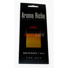 AROMA RICHE Ароматизатор воздуха For MAN Man in Black №5 (картон)