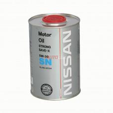 FF6709-1 FANFARO Масло мот. NISSAN Strong Save X SN 5W30 (1 л) Ж/Б