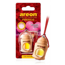 AREON Ароматизатор подвесной FRESCO - Bubble Gum (дерево, жидкий)