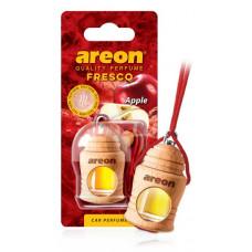 AREON Ароматизатор подвесной FRESCO - Красное яблоко (дерево, жидкий)
