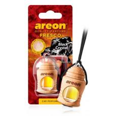 AREON Ароматизатор подвесной FRESCO - Черный кристалл (дерево, жидкий)