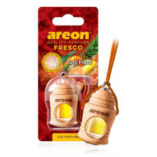 AREON Ароматизатор подвесной FRESCO - Tutti Frutti (дерево, жидкий)