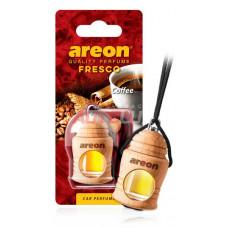 AREON Ароматизатор подвесной FRESCO - Coffee (дерево, жидкий)