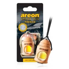 AREON Ароматизатор подвесной FRESCO SPORT LUX - Gold (дерево, жидкий)