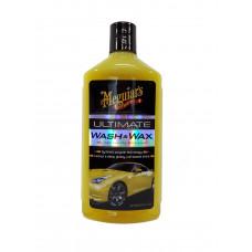 MEGUIARS Автошампунь для ручной мойки Ultimate Wash and Wax (473 мл) 1/6