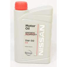 NISSAN Масло мот. DPF CF/SM C3 5W30 синт. (1 л)
