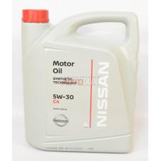 NISSAN Масло мот. DPF CF/SM C3 5W30 синт. (5 л)