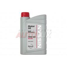 NISSAN Масло мот. 10W40 п/с (1 л)