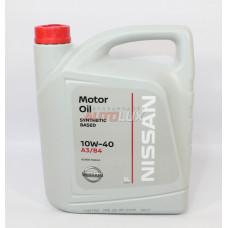NISSAN Масло мот. 10W40 п/с (5 л)