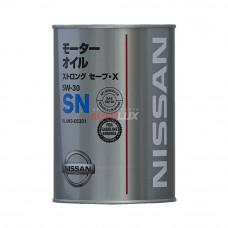 KLAN3-05301 NISSAN Масло мот. Strong Save X SN 5W30 (1 л) Chempioil