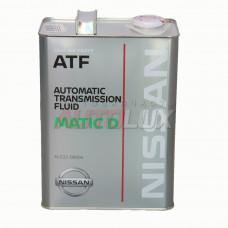 Жидкость АКПП Nissan MATIC Fluid-D 4л