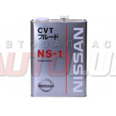 Масло для АКПП - вариатора Nissan CVT NS-1 (4 л.)