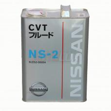 Масло для АКПП - вариатора Nissan CVT NS-2 (4 л.)