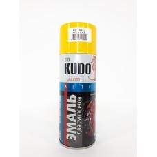 KUDO Эмаль для суппортов ЖЁЛТАЯ (520 мл)