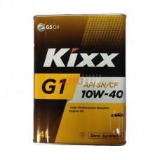 Масло Kixx G1 SN/CF 10/40 (4л)