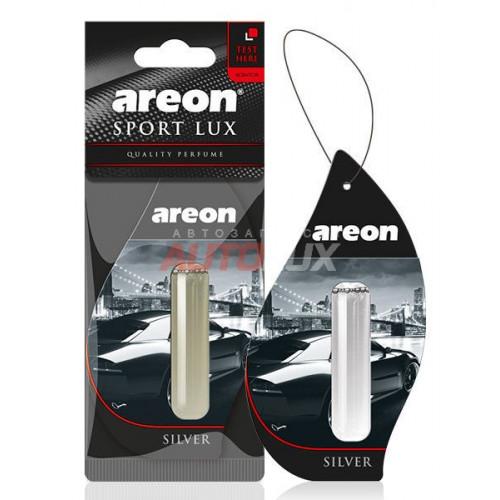 AREON Ароматизатор подвесной (гелевый) LIQUID SPORT LUX - Silver (5 мл)