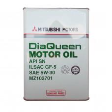 MZ102701 MITSUBISHI Масло мот. Dia Queen SN 5W30 GF-5 (4 л) (гидрокрекинг)