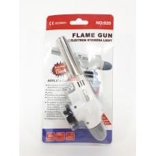FLAME GUN Горелка газовая с пьезоподжигом и керамическим соплом