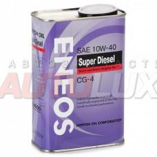 Масло ENEOS Semisynthetic Super diesel 10/40 CG-4 п/с (0,94л)