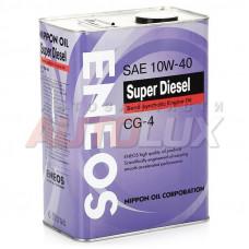 Масло мот. ENEOS Semisyntethetic Super Diesel 10w40 п\с (4л)