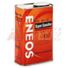 OIL1358 ENEOS Масло мот. Super Gasoline SL A3 5W30 GF-3 п/с (940 мл) Ж/Б