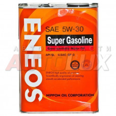 Масло ENEOS SemiSynthetic Super Gasoline SL 5W30 (полусинт.) (4 л)