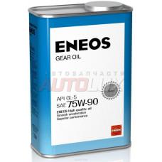 OIL1366 ENEOS Масло трансм. GEAR Oil 75W90 GL-5 (для МКПП) (940 мл)