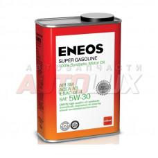OIL4073 ENEOS Масло мот. Super Gasoline SM A3 5W30 GF-4 синт. (940 мл) Ж/Б