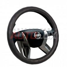 AZARD Оплетка на руль VOIN - Classik (экокожа, черная) размер M (37-39 см)