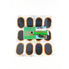 KING Заплатки ремонтные для камер (12 шт + клей)
