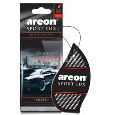 AREON LUX Ароматизатор подвесной SPORT  SILVER