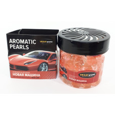 VEXAY AROMA Ароматизатор (на панель) Aromatic Pearls гелевые шарики - NEW CAR (100 гр)